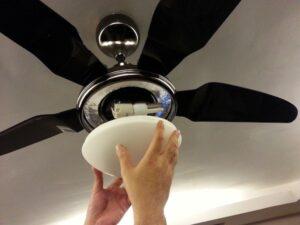 ceiling fan nstallation